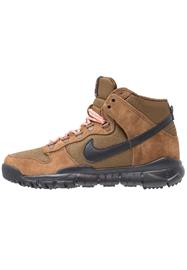 Nike SB DUNK Korkeavartiset tennarit military brown/black/dark khaki