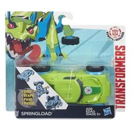 Transformers - Robots in Disguise - 1-Step Changers - Springload (B4652)