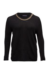 Violeta by Mango Chain Wool-Blend Sweater 14799376