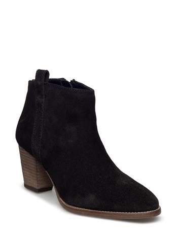 Mango Leather Western Ankle Boots 14852533