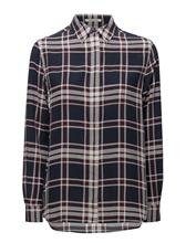 GANT G2. Printed Check Silk Blouse 14913203
