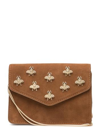 Mango Appliqu Leather Bag 14823933