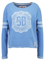 Superdry ROSETTA CREW Collegepaita blue skies