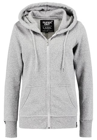 Superdry LUXE EDITION Collegetakki grey slate