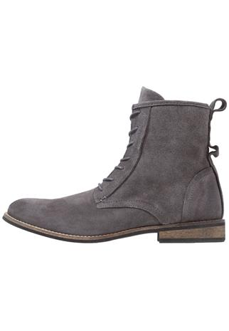 Shoe The Bear WALKER Nauhalliset nilkkurit dark grey