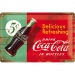 Coca-Cola 5C Delicious Refreshing Kilpi 20x30cm