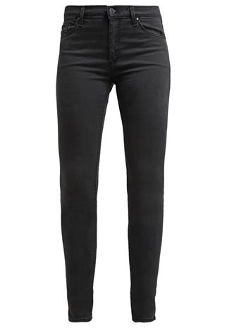 Topshop LEIGH SkinnyFarkut black denim