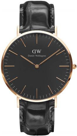 DW Classic Black Reading 40mm DW00100129