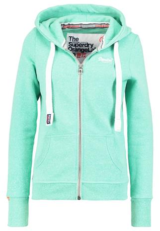 Superdry ORANGE LABEL Collegetakki snowy hot mint