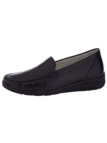 Loaferit Waldläufer musta73048/10X