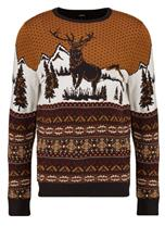 Burton Menswear London FAIRISLE Neule yellow