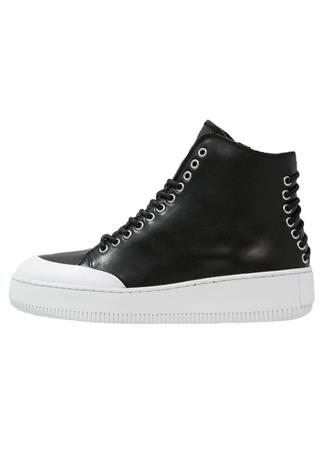 McQ Alexander McQueen NETIL Korkeavartiset tennarit black/white