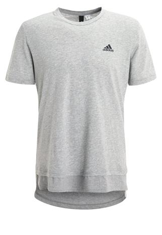 adidas Performance DRIFTER Tekninen urheilupaita medium grey heather