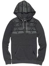 Element Native Cornell Henley Huppari charcoal heather / harmaa Miehet