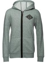 Volcom Sub Zip Hoodie Boys heather grey / harmaa Jätkät