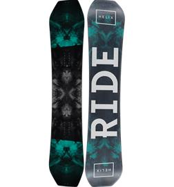 Ride HELIX WIDE -16 BLACK/DARK GREEN