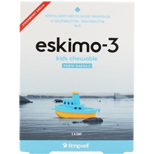 Eskimo-3 kids chewable 27 tablettia