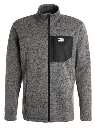 Jack & Jones Tech JJTPOCKET Fleecetakki grey melange