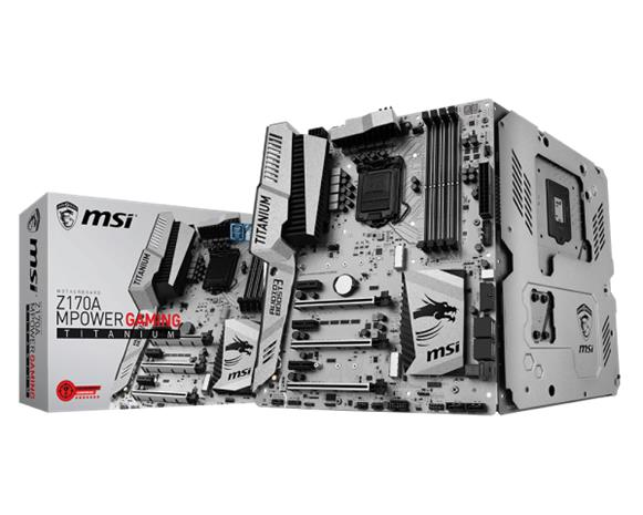 MSI Z170A MPower Gaming Titanium, emolevy