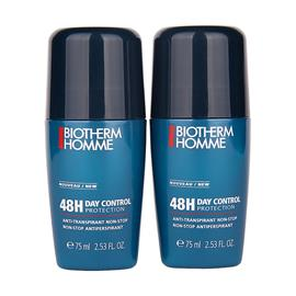 Biotherm Homme 48H Day Control Duo - Deodorant Roll on x 2