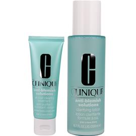Clinique Anti-Blemish Solutions Duo - Clarifying Lotion 200ml, Moisturizer 50ml