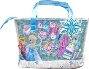 Disney Frozen Royal Winter Beauty, meikki- ja kynsilakkasetti laukussa
