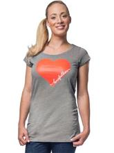 Horsefeathers Lost Heart T-Shirt heather gray / harmaa Naiset