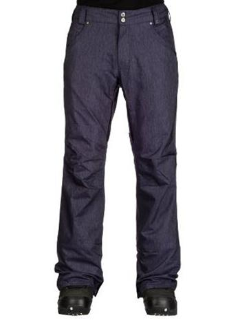 Aperture 5 Pocket Snow Housut blue denim / sininen Miehet