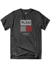 LRG Geo T-Shirt black heather / musta Miehet