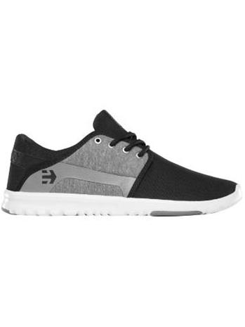 Etnies Scout Sneakers black / charcoal / silver / musta Miehet