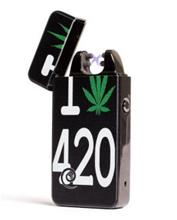 Plazmatic X Lighter Executive I Cannabis 420 - Electric USB lighter | (LIMITED EDITION!)