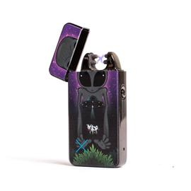 Plazmatic X Lighter Executive Spaced Out - Electric USB lighter