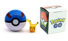 Pokemon Go - Pokeball - Great Ball + Figur
