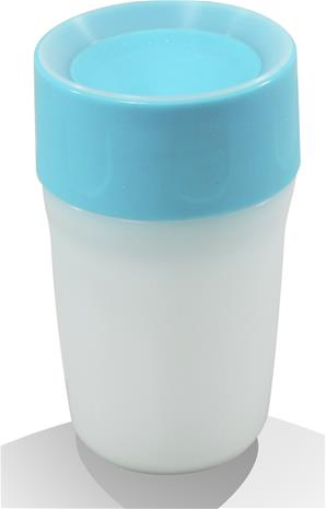 Litecup, Läikkymätön muki valolla, Little, 250 ml, Frozen Blue