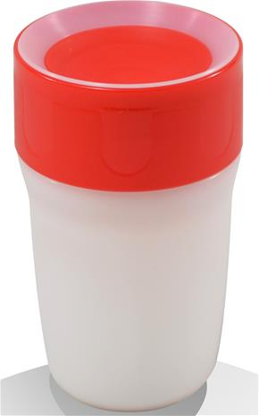 Litecup, Läikkymätön muki valolla, Little, 250 ml, Royal Red