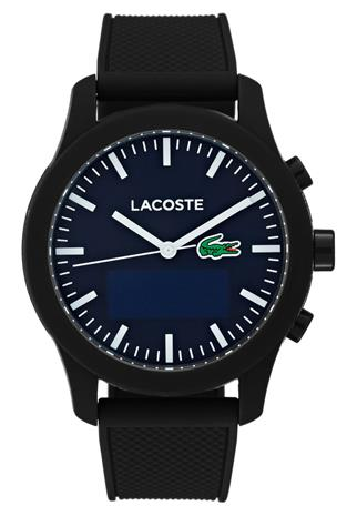Lacoste 12.12 CONTACT Rannekello black