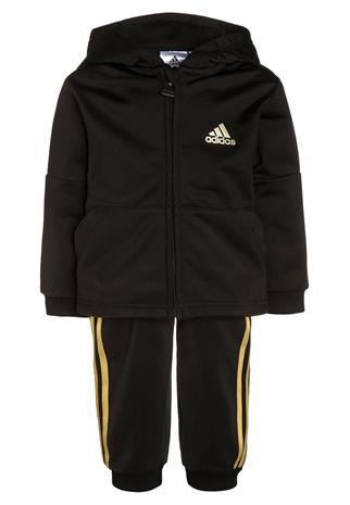 adidas Performance Verryttelypuku black/gold metallic