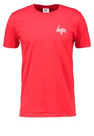 Hype Printtipaita red/white