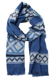 GAP Huivi blue fairisle