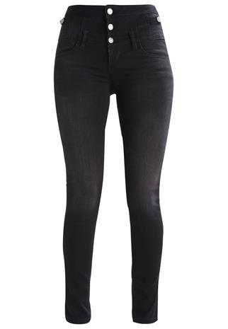 Liu Jo Jeans BOTTOM UP RAMPY Slim fit farkut black