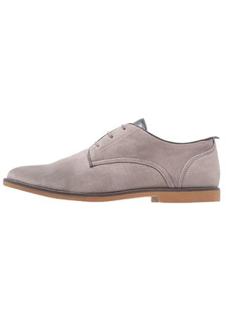 Burton Menswear London HAMILL Klassiset nauhakengät light grey