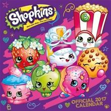 Shopkins Official 2017 Square Calendar, kirja