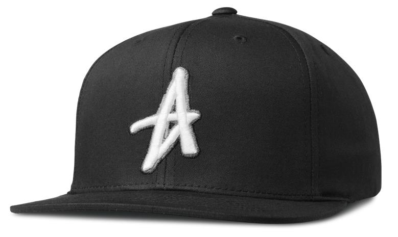 Altamont Decades Snapback Cap Black White