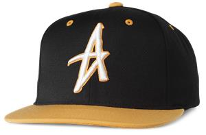 Altamont Decades Snapback Cap Black Brown