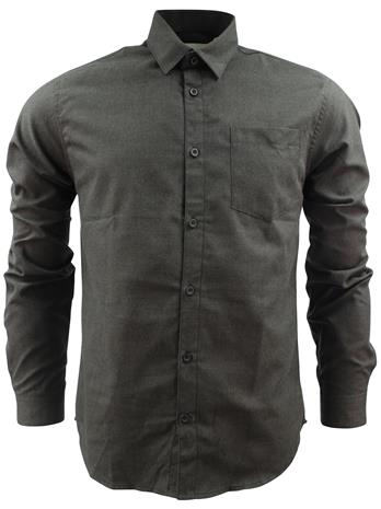 Shine Melange Shirt Black