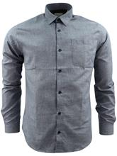 Shine Melange Shirt Navy
