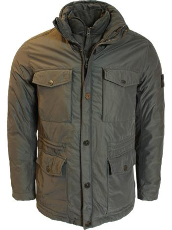 Stone Island Micro Reps Jacket Carbone