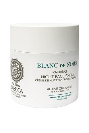 Natura Siberica Radiance Night Face Cream
