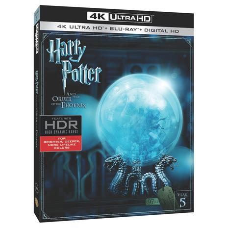 Harry Potter ja Feeniksin kilta (Harry Potter and the Order of the Phoenix, 4k uhd Blu-Ray), elokuva