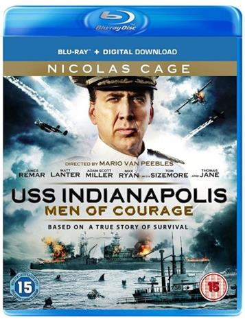 USS Indianapolis: Men of Courage (2016, Blu-Ray), elokuva